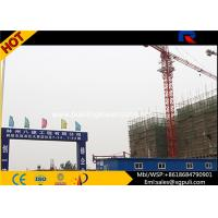 Quality Building Tower Crane Self - Erecting Hammer Head With Electric Box Schneider for sale