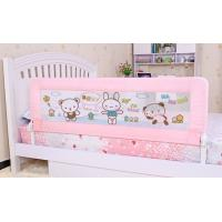 Wholesale Folding Pink Bed Guard Rails 100CM , Safety Convertible Bed Rails For Children from china suppliers