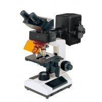 Wholesale 3 D Image Trinocular Digital Compound Microscope Fluorescent Objectives from china suppliers