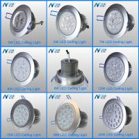 Wholesale High Efficiency E27 LED Recessed Ceiling Lights 3w / 5w / 7w Nature White from china suppliers
