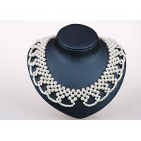 Wholesale Party Favors Handmade / Handcrafted Pearl Jewelry Necklace Designs Elegant from china suppliers