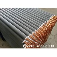 Wholesale 11 FPI Extruded Fin Tube / Heat Exchanger Finned Tube 25000MM Length from china suppliers