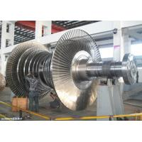 Wholesale Mechanical Steam Turbine Rotor Forging For Large / Small Gas Turbine Unit from china suppliers