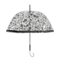 Wholesale Fashion Transparent Clear Rain Umbrella Parasol Dome for Wedding Party from china suppliers