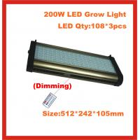Wholesale 2 channel independent control, double spectrum LED Grow Lights , Cidly 200W, growing lamp from china suppliers