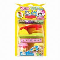 Wholesale 2-pack 2oz Dough Play Set/Educational Toy, Made of Flour, Safe  from china suppliers