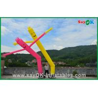 Wholesale 7m Rip Stop Nylon Advertising Inflatable Air Dancer 950W Air Pump With LED from china suppliers