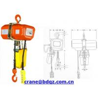 Wholesale HHXG electric chain hoist from china suppliers