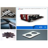Wholesale Metal Tube Laser Cutting Machine , Copper And Aluminium Alloy Fabric Laser Cutter from china suppliers
