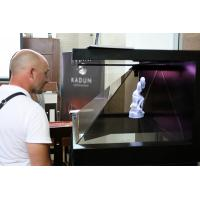 Wholesale 270° 22 Inch Full HD Hologram Pyramid 3D Display Showcase Hologram Box For Exhibition from china suppliers