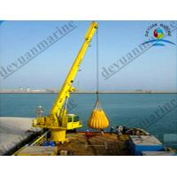 Wholesale 30 Ton Hydraulic Telescopic Boom Marine Deck Cranes With SOLAS Standard from china suppliers