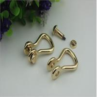 Buy cheap Customized high quality zinc alloy 10mm D shape metal strap buckle for handbag from wholesalers