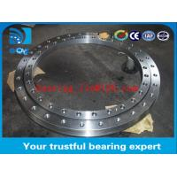China Worm drive Three-row roller slewing bearing , rollix slewing bearing on sale