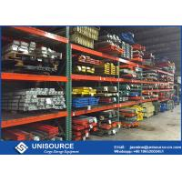 Wholesale High Density Durable Teardrop Pallet Rack With Heavy Duty Steel Box Beam from china suppliers