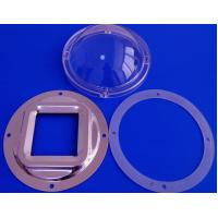 Wholesale 120Mm Diameter Pc 100w High Bay Led Light Lens With Reflector / Silicon Gasket from china suppliers