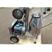 Wholesale Economic De Lavel Farm Single Cow Milking Machine With Mobile Wheel from china suppliers