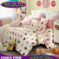 Wholesale CKKH006-CKKH010 205TC Cartoon Design Printed King Size 100% Cotton Bedding Sets from china suppliers
