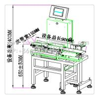 checkweighing system in production line,automatic rejection and sorting system
