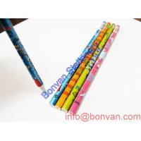 Wholesale water drawing pencil,art drawing wooden pencil,printed water color gift pencil from china suppliers