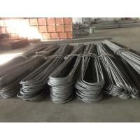 Wholesale Hot / Cold Finished U Bend Tube , JIS G 3463 Bending 316 Stainless Steel Pipe from china suppliers