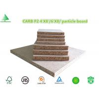 Wholesale American market CARB P2 4'X8' wholesale cheap raw particle board prices from china suppliers