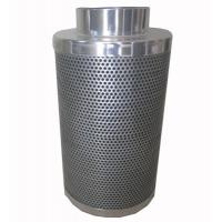 China CTC70 10 Inch hydroponic Flange Active Carbon Filter Odor Control Scrubber on sale