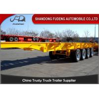 Wholesale 2 / 3 Axle Skeletal Semi Trailer ,  40 Ton 20ft 40ft Skeletal Trailer from china suppliers
