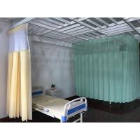 Wholesale Disposable Drilling Mesh Hospital Cubicle Curtain , Flame Retardant Non - Woven Material from china suppliers