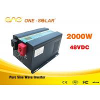 Wholesale Low frequency pure sine wave ups intelligent power inverter 2000w 12v 24v 110v with charger from china suppliers