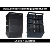 """Quality Concert Sound Equipment / 580W Line Array Speaker With1.4""""+2x10"""" Neodymium Drivers for sale"""