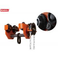 Wholesale TG Lifting Push Travel Trolley Geared Beam Trolley Capacity: 10 Tons from china suppliers