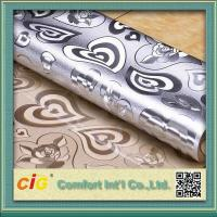 Wholesale Embossed Design Plastic PVC Table Cloth Flora Pattern Waterproof from china suppliers