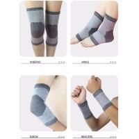 Quality Bamboo Charcoal Knee Support Elastic Compression Sleeve( 1 Pair) for sale