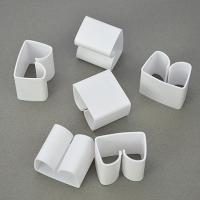 Wholesale White Multipurpose Households Products , PVC Cable Winder For Office from china suppliers