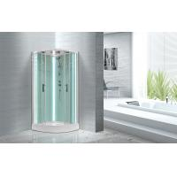 Wholesale Free Standing Quadrant Shower Cubicles With Transparent Tempered Glass Fixed Panel from china suppliers
