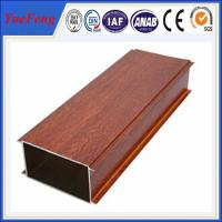 Wholesale Hot Sale Wood Grain Aluminium Alloy Pipes, aluminum tubes extrusion from china suppliers