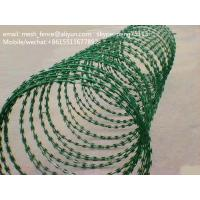 Wholesale professional manufacturer of razor blade barbed wire ( goods in stock) from china suppliers