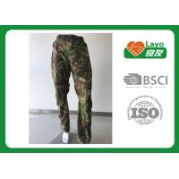 Wholesale Windbreak Hunting Camo Pants Thermal  100% Polyester For Running / Fishing from china suppliers