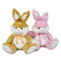 Wholesale Fashion Holiday Stuffed Easter Bunnies / Easter Plush Bunnies Custom Made from china suppliers