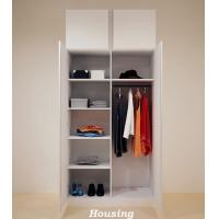 Buy cheap Simple White Wardrobe Storage Cabinet for Living Room from wholesalers