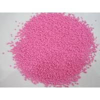 China Pink Sodium Sulfate Anhydrous Color Speckles For Soaps Granules Shape on sale