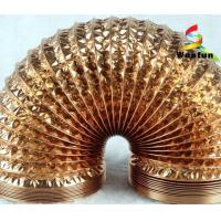 Wholesale Hydroponics ventilation single or double layer aluminum foils/ polyester flexible duct from china suppliers