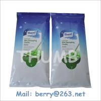 Buy cheap Fresh scent disposable 12pcs wet sweeping cloth from wholesalers