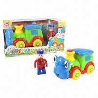 Wholesale B/O Funny Train Toy Car with Figurine, Touchsensitive from china suppliers