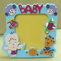 Quality New Eco-friendly,non-toxic material Pvc. rubber, silicone products photo frame arts crafts for sale