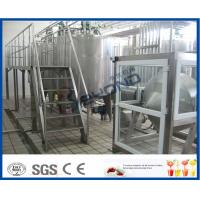Wholesale 500L 1000L SGS Butter Making Equipment With Butter Separator Machine from china suppliers