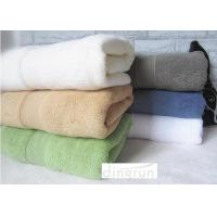 Wholesale Plain Color Fadeless Thickening Personalized Bath Towel 70x140cm Double - Sided Terry from china suppliers