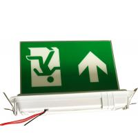 Wholesale Ceiling Recessed Emergency Led Exit Signs with Ni-Cd battery 3.6V1.8Ah from china suppliers