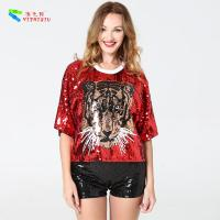 Wholesale 100% Polyester Womens Sequin Dress / Summer Sequin Shirt Dress Eco - Friendly from china suppliers