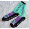 Knitting Unisex Non Slip Slipper Socks , Customized Logo Anti Slip Socks , Fashion Knitting Socks for sale